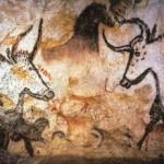 Lascaux, Fragment naskalnych malowideł zwierząt