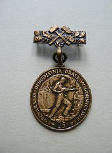 Odznaka za Długoletnią Pracę w Górnictwie