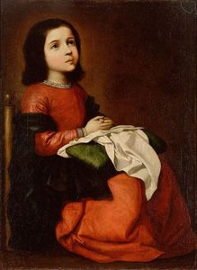 Modlitwa małej Marii