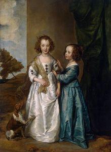 Portret Elizabeth i Philadelphii Wharton